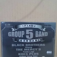 CD ORIGINAL 17 LAGU GROUP 5 BAND LEGENDARIS VOL. 2