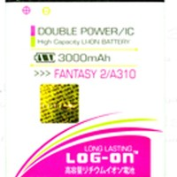 Baterai Double Power Log on MITO FANTASY 2 A310 Batre Batere Battery