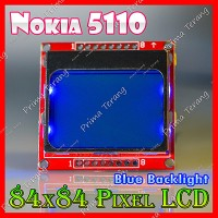 Nokia 5110 LCD Graphic 84x48 Pixel Arduino Compatible Blue Backlight