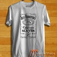 Jeff Hanneman, Jack Danils |Kaos Distro| Kaos Oblong | Tshirt