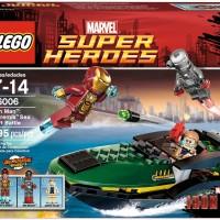 LEGO 76006 - Super Heroes - Iron Man: Extremis Sea Port Battle