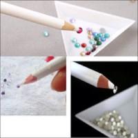 Rhinestone pencil gem pensil nail art