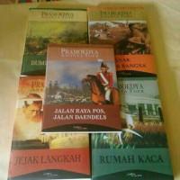 Buku Tetralogi Pramoedya Anata Toer (Harga spesial)
