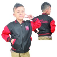 Jaket Fleece Anak HJS 963 JAVA SEVEN