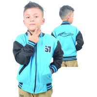 Jaket Fleece Anak Sporty HJS 962 JAVA SEVEN