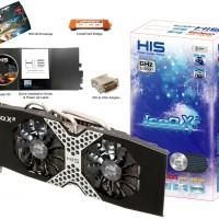 HIS Ati Radeon HD 7970 3GB DDR5 384 Bit ICEQ X2 DUAL FAN (BOOST CLOCK)