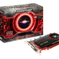 PowerColor HD 7750 1Gb 128Bit DDR5 Ati Radeon PCI Exp