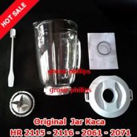 Sparepart JAR KACA Blender Philips HR 2115-2116-2061-2071 (Komplit)