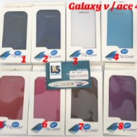 case flip cover sarung casing samsung galaxy v ace4 ace 4 g313