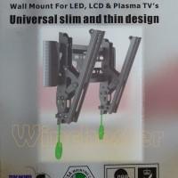 harga Breket/Bracket TV LCD/LED/Plasma Fleksibel 17