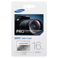 Samsung SDHC Card Pro 90Mb / S 16GB