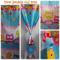 harga Tirai jendela owl tree Tokopedia.com