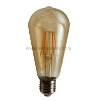 Lampu bohlam Edison LED Oval