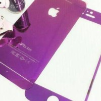 Tempered Glass Mirror Purpe iPhone 4 / 4s