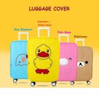 Jual Pelindung Penutup Koper Rilakuma n Friends / Luggage Cover Murah