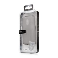 Capdase Soft Jacket Case Nokia Lumia 620 Tinted Black