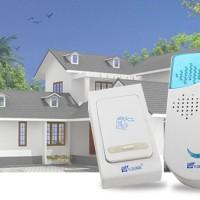 Bel pintu rumah wireless bell door 32 musik 100m tanpa kabel nirkabel