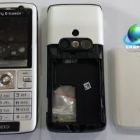Sony Ericsson K610i White Casing Fullset + Tulangan