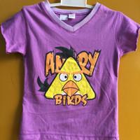 Jual Kaos Anak Perempuan Angry Birds Murah