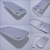 Hybrid Case : Aluminium Metal Bumper + Back Case Samsung Galaxy S3