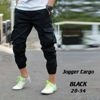 Jogger Cargo Hitam | DC | Cheapmonday | Topman | Hitam