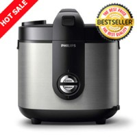 Magic Com Rice Cooker Philips HD 3128 ProCeramic Kap. 2 LITER - STAINL