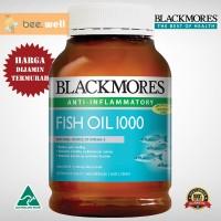 Jual Blackmores Fish Oil 1000mg 400 capsules Murah