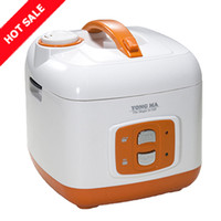 Magic Com Rice Cooker Yong Ma YMC105 - Gold Iron - 2 L - Orange