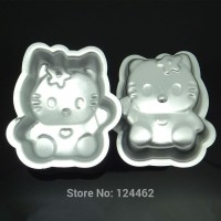 Cetakan Loyang Mold Hello Kitty Hk Alat Bento Tools Baking Kue Bolu Sm