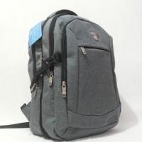 harga Tas Ransel Laptop 9150 - 06 Travel Time Grey Jeans Expandable Tokopedia.com