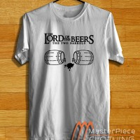 The Lord Of The Beers, Funny Logo |Kaos Distro| Kaos Oblong | Tshirt