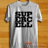 Supercell Logo |Kaos Distro| Kaos Oblong | Tshirt