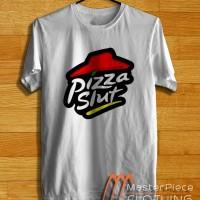 Pizza Slut Pizza Hut Parody Logo |Kaos Distro| Kaos Oblong | Tshirt