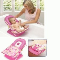 Summer Infant Deluxe Baby Bather 3 Positions Pink
