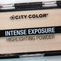 City Color Intense Exposure Highlighting Powder Makeup/ Blush on