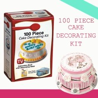 100 Piece Cake Decorating Kit As Seen On TV Alat Penghias Gambar Kue