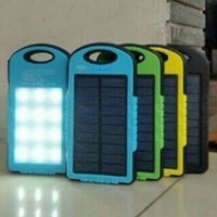 harga Powerbank Solar + Lampu Emergency Tokopedia.com