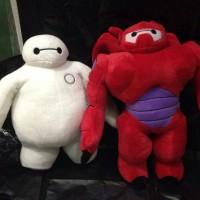 Jual Paket Boneka Baymax putih & Merah : Bighero Murah