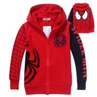 Jual jaket anak karakter spiderman avangers Murah
