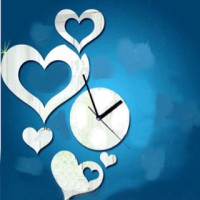 DIY Wall Clock Love Style
