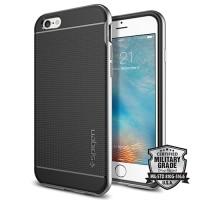 Spigen iPhone 6S Plus Case Neo Hybrid ( 2015 ) - Satin Silver