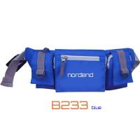tas pinggang sepeda biru nordend b233 (waist bag,tas sepeda)