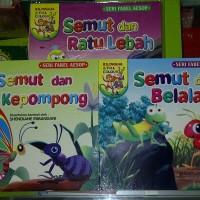 Buku Anak, buku cerita bergambar Seri Fabel, kaya akan pesan moral