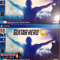 PS4 Guitar Hero Live Bundle Guitar