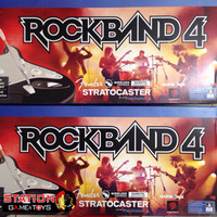 PS4 Rockband 4 Bundle Guitar