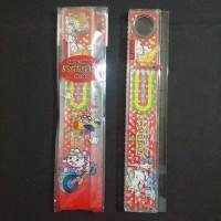 Penggaris mainan kanfei 20 cm KF-085