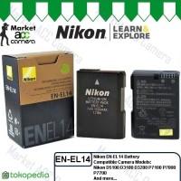 Battery Nikon EN-EL14/ENEL14 (D3100/D3200/D3300/D5100/D5200/D5300)