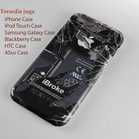 Broken, Rupture, Damage Cracked Out Apple iPhone 5 case dan semua hp