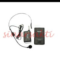 harga Mic Wireless Aiwa Na 801 Vhf ( Headset ) Tokopedia.com