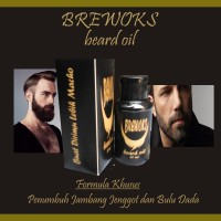 Obat Penumbuh Jenggot Jambang Kumis Dan Bulu Dada | Brewok Beard Oil